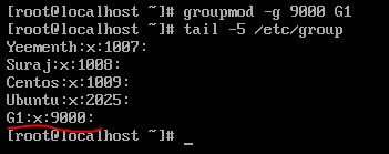 -g option with groupdel command in linux