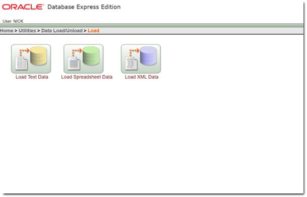 Load Spreadsheet Data